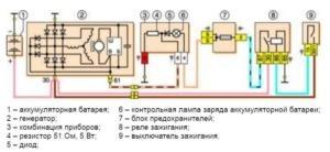 схема генератора нива