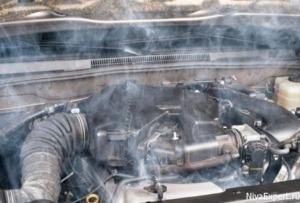 перегрев и закипание двигателя нива