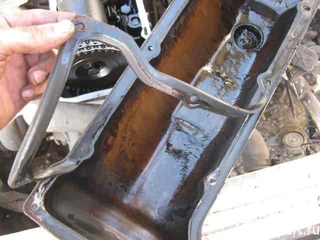 демонтаж старой прокладки клапанов нива 21214