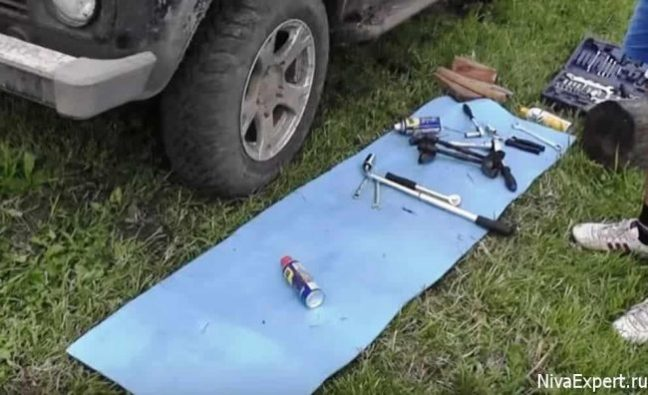 подготовленный инструмент