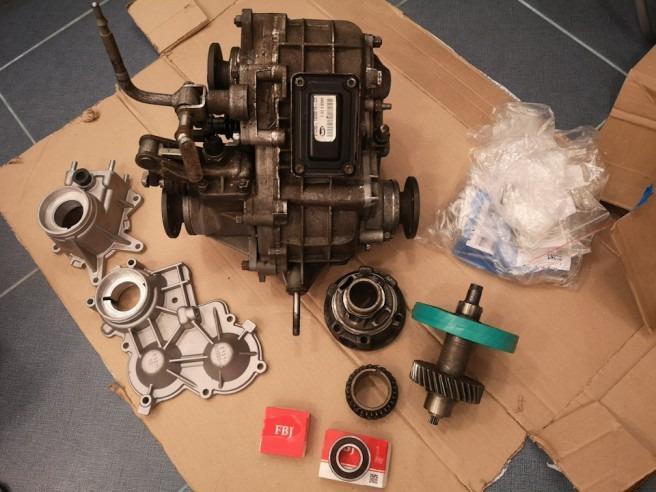 Подготовка к ремонту раздатки ВАЗ 2123