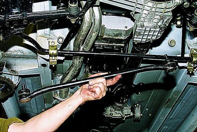 Замена рулевых наконечников 11