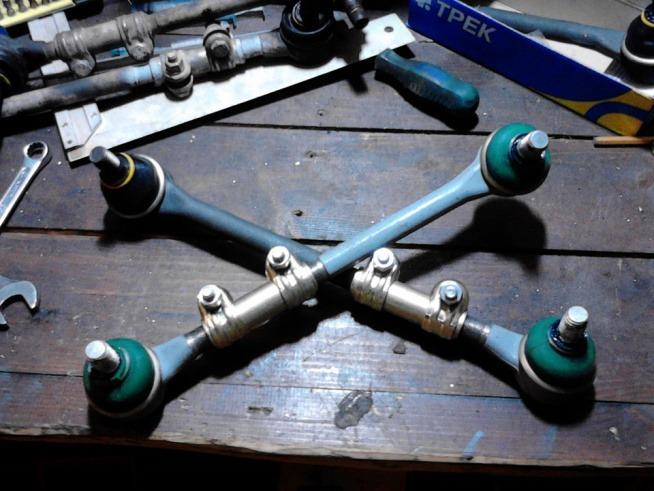 Б/у рулевые тяги и наконечники