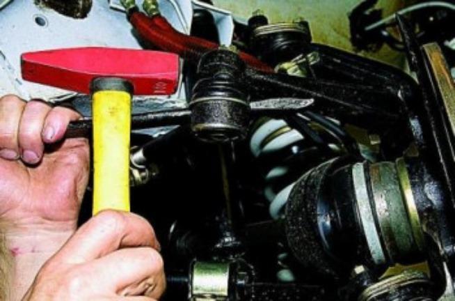 Замена рулевых наконечников 5
